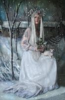 Queen of Winter by IdaLarsenArt