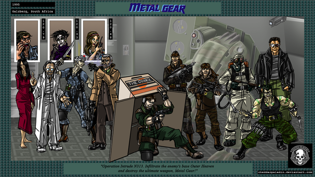 Metal Gear by cheddarpaladin