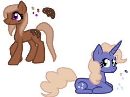 Pony Adopts 2/2 OPEN by Honey-PawStep