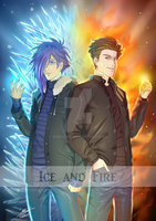 Ice and Fire by Mokolat
