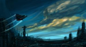 sci-fi thumbnail practice by therealarien
