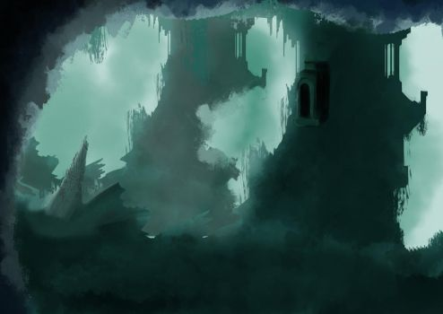 Atlantis speedpainting by Emisys