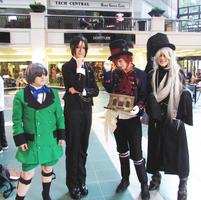 Phantomhive Service A-kon 22 by clockworkcosplay