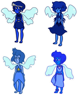 Lapis Lazuli Adopts - Closed by FlameFyre1235