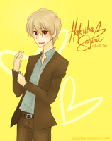 AT: Hakuba Saguru by AlexaClyne