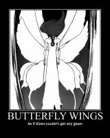Butterfly Aizen by draconichero18
