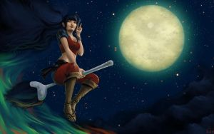 Japanese Witch by Wictorian-Art