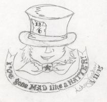 Mad like a Hatter by ashumz1122