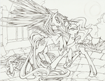 I will protect you WIP by SpiderShii