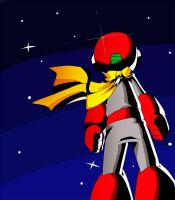 Protoman by PuddingPlushiePalace