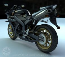 yamaha yzf-r1 view 2 by 3dsquid