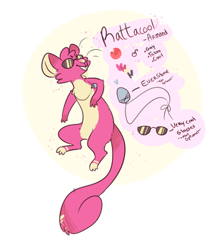 Rattacool - Reference by RikoNeko