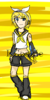 Kagamine Rin ~ Colour* by ECookie