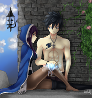 [Fairy Tail] Your darkness... I will seal it! by AquaLeonhart