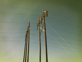 Electric Poles by tntrekabulator