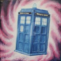 The TARDIS: 50th Anniversary by napalmnacey