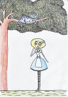 alice and the cat by EGLemming