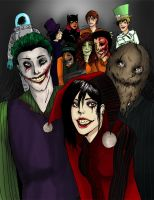 Arkham Family Photo by xPinkScissorsx