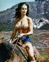 Lynda Carter | Wonder Woman | YTR9 | HHTE | 44GT by c-edward