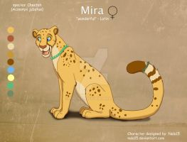 ''Mira'' Cheetah Character - Commission by Nala15
