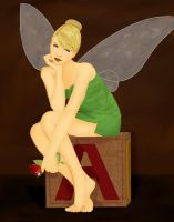 Tinkerbell -Somewhat Realistic by FalseDisposition