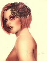 Effie Trinket: The Escort by IsaiahStephens