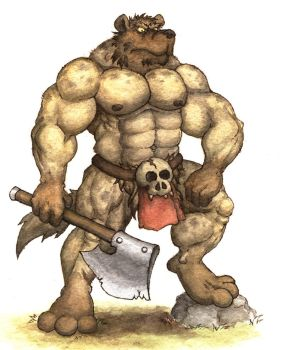 Burly Gnoll by GH-MoNGo