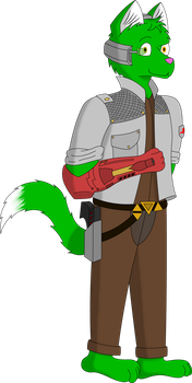 Henry of team Star Fox by AshesAndEmbers