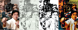 Jackie Chan by Cuine