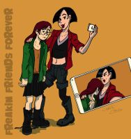 Daria and Jane are FFF by Christo-LHiver