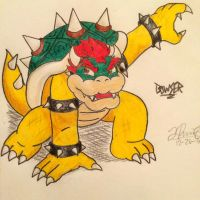 Bowser! by LillianCloudwing