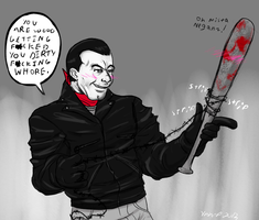 Negan and Lucy are D.T.F by Ynnep
