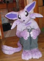Espeon Half Suit by drag0nfeathers