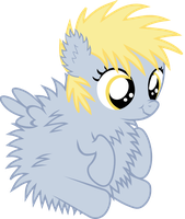 Fluffy Derpy Hooves by Durpy337