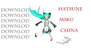 DL DT PDA hatsune miku china by johnjan11