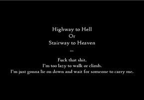 Heaven, Hell Or Other by AshofaBlackRose