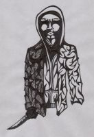 Hooded Killer by Bodhi-The-Wicked