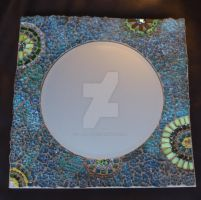 3rd tempered glass mirror by Manicmosaics