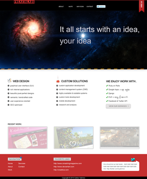 Idea for our upcoming site by elruso