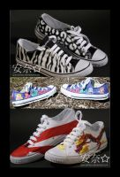 custom painted shoes by specialnezz