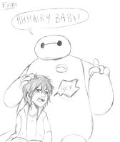 BH6: HHHairry Baby! by XJustADoodlerx