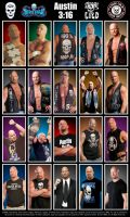 WWE Stone Cold Steve Austin Poster by Chirantha