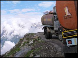 Manali - road to spiti by besok