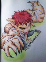 Commission: Gaara (Naruto) by PsicoDelicia