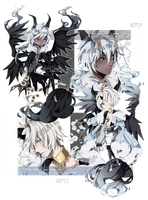 .:CLOSED:. Adoptable - TALUS Species #14 #15 by chisei-adopts