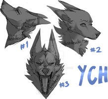 YCH headshots open by dvstdevil