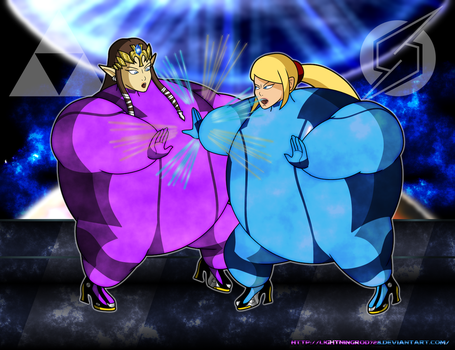 Sumo Smash Sisters Bawl by LightningRod728