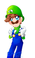 Luigi by PaperLillie