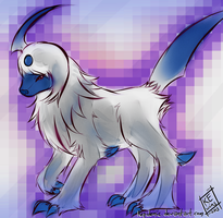 Absol by Kepidemic