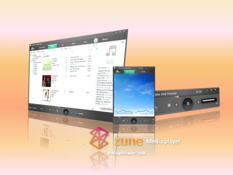 zune media player by edgexlasher